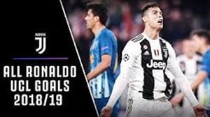 تمامی گلهای رونالدو در لیگ قهرمانان اروپا19-2018