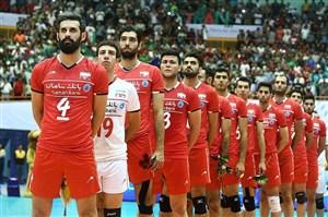 خلاصه والیبال تیم ملی ایران 3 - تیم ملی هند 0