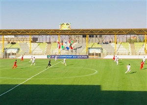 پیروزی افغانستان مقابل چشم مربیان تیم ایران