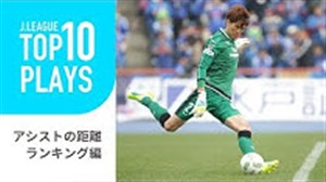 10 پاس گل برتر دروازه بان های لیگ ژاپن