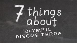 7 نکته درباره پرتاب دیسک المپیک