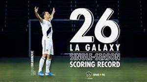 شکستن رکورد تیم گلکسی توسط زلاتان با 26 گل زده درفصل 2019
