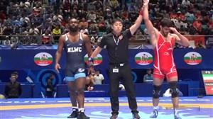 پیروزی مقتدرانه حسن یزدانی در وزن 86 کیلوگرم