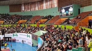 گزارشی از محل برگزاری دیدار تیم ملی والیبال