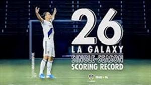 رکوردشکنی برترین گلزن تاریخ باشگاه لس آنجلس گلکسی