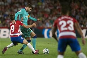 گرانادا 2-0 بارسا: سندروم خارج از خانه تیم والورده