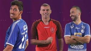 پشت صحنه عکاسی از بازیکنان استقلال و پرسپولیس