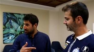 گففتگوی متفاوت هاشم بیکزاده در اردوی استقلالیها