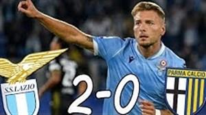 خلاصه بازی لاتزیو 2 - 0 پارما