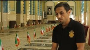مرور خاطرات شهدای فوتبال ایران با رسول خطیبی