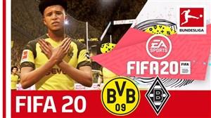 محک زدن بازیکنان بوندسلیگا در بازی FIFA 20