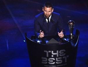 صحبتهای لئو مسی پس از کسب عنوان بازیکن سال فیفا