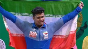 کسب مدال برنز موسوی در حرکت دوضرب96کیلو