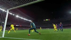 گل اول بارسلونا به ویارئال توسط گریزمان
