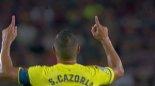 گل اول ویارئال به بارسلونا (سوپرگل سانتی کازورلا)