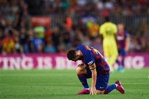 بارسلونا بدون مسی ضعیفتر شد
