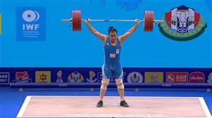 حرکات یک ضرب رضا دهدار در مسابقات جهانی تایلند