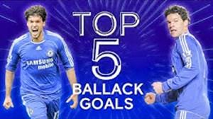 5 گل برتر بالاک برای چلسی