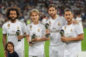 برترین حرکات تکنیکی رئال مادرید در ماه سپتامبر