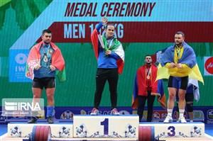 رضا دهدار؛ اولین طلایی ایران در پاتایا(عکس)