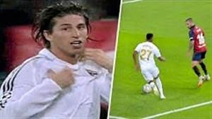 اولین گل ستارگان رئال مادرید برای باشگاه