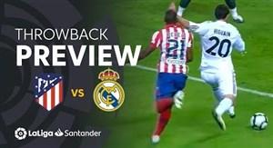 بازی خاطره انگیز رئال مادرید 3 - اتلتیکومادرید 2