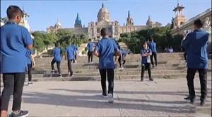 گزارشی از اعزام تیم منتخب کمپ استعدادیابی ایرانسل به اسپانیا