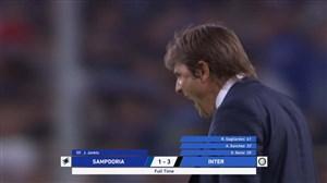 خلاصه بازی سمپدوریا 1 - 3 اینتر