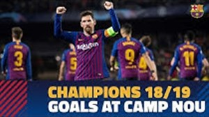 برترین گلهای بارسلونا در لیگ قهرمانان19-2018 در نیوکمپ