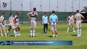تمرین امروز ترابزون با حضور مجید حسینی
