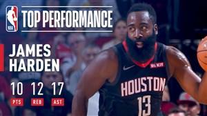 رکوردی دیگر برای جیمز هاردن در بسکتبال NBA