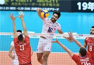 خلاصه والیبال ایران 1 - روسیه 3