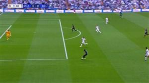 گل اول کلوب بروژ به رئال مادرید (دنیس)