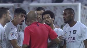 رفتار زشت احمد الکاف با بازیکنان السد