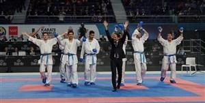 قهرمانی کاراتهکاهای ایرانی در مسکو