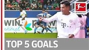 5 گل برتر هفته ششم بوندسلیگا