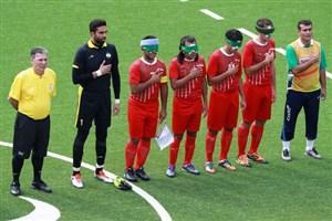 ایران سرگروه فوتبال پنج نفره قهرمانی آسیا شد