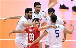 خلاصه والیبال ایران 3 - کانادا 1