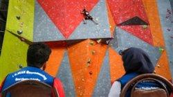 بررسیدلایلاتفاقناگوار در مسابقاتصخرهنوردیاصفهان