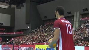 خلاصه والیبال ژاپن 3 - تونس 0 (جام جهانی)