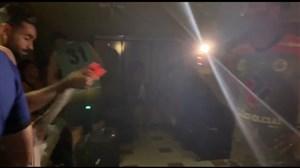 قطع شدن برق رختکن سایپا در ورزشگاه تختی آبادان