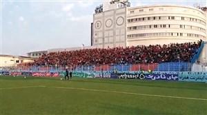 جو فوق العاده در ورزشگاه شهید وطنی قائمشهر