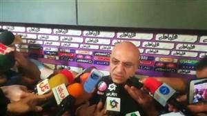 فتحی: این داوری در شان لیگ ما نیست