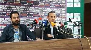 نشست خبری گل محمدی پس از پیروزی برابر پرسپولیس