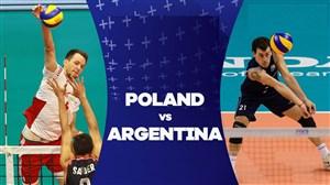 خلاصه والیبال آرژانتین 1 - لهستان 3