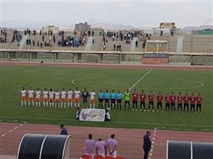 خلاصه بازی مس کرمان 0 - خوشه طلایی ساوه 0