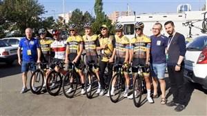 اختصاصی ورزش سه: استارت مرحله پنجم تور دوچرخه سواری ایران (آذربایجان)