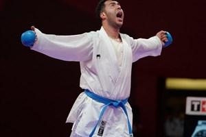 گنج زاده به مدال نقره کاراته دست یافت
