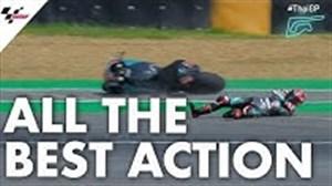 حرکتهای برتر Moto GP در تایلند