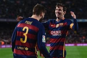 بازی خاطره انگیز بارسلونا - سویا (سوپرگل مسی)